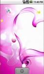 Pink Heart Live Wallpapers screenshot 2/5