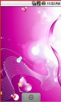 Pink Heart Live Wallpapers screenshot 4/5