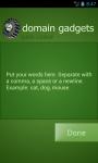 Domain Gadgets Free screenshot 4/5