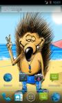 Funny Hedgehog Live Wallpaper screenshot 2/5