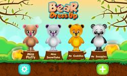 Bear Dress up screenshot 1/6