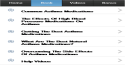 Asthma Medications screenshot 2/3