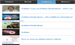 Asthma Medications screenshot 3/3