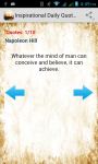Inspirational Daily Quotes screenshot 2/2