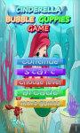 Bubble Cinderella Guppies Game screenshot 1/2