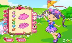 Strawberry Shortcake Hello Spring Dress Up Game screenshot 2/3