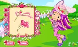 Strawberry Shortcake Hello Spring Dress Up Game screenshot 3/3