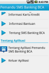 Pemandu SMS BCA screenshot 4/6