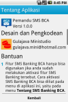 Pemandu SMS BCA screenshot 6/6