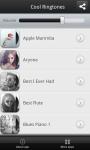 Cool Ringtones app screenshot 2/3