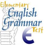 Elementary English Grammar Test screenshot 1/3