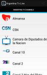 Free Argentina Tv Live screenshot 1/6