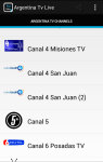 Free Argentina Tv Live screenshot 2/6
