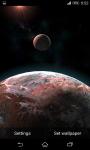 Planet Scape 3D Live Wallpaper  screenshot 1/5