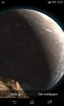 Planet Scape 3D Live Wallpaper  screenshot 3/5