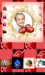 Lovely Valentine Photo Frames screenshot 2/4