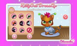 Kitty Cat Pet Dress Up Baby meow screenshot 3/4