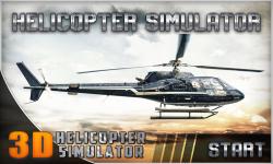 Helicopter Flight Simulator 3D screenshot 1/5