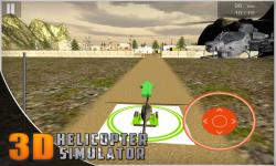 Helicopter Flight Simulator 3D screenshot 2/5