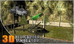 Helicopter Flight Simulator 3D screenshot 3/5