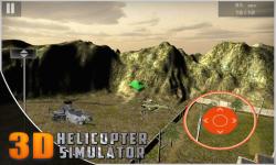 Helicopter Flight Simulator 3D screenshot 5/5