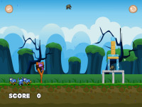 Flying Monsters And Shelters screenshot 3/6