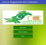 Check Registered Sim Pakistan screenshot 2/4