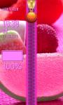 Candies Zipper Lock Screen screenshot 4/6