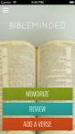 Bible memorization made easy -- Bible Minded App screenshot 1/5