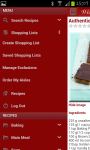 Web Recipe Manager screenshot 1/6