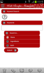 Web Recipe Manager screenshot 4/6