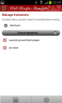 Web Recipe Manager screenshot 6/6