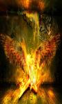 Fire Angel Live Wallpaper Free screenshot 2/4