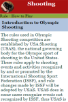 Rules to play Shooting screenshot 3/3