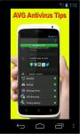 AVG Antivirus Tips screenshot 1/2