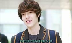 Kim Woo Bin Cool Wallpaper screenshot 5/6