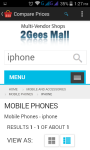2gees Price Comparison                             screenshot 2/3