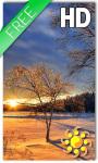 Sunset Winter Live Wallpaper screenshot 1/2