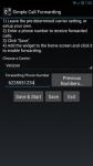 Simple Call Forwarding maximum screenshot 5/6