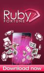 Ruby Fortune Mobile Casino screenshot 1/6