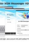 Air MSN Messenger HD screenshot 1/1