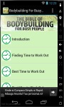 Bodybuilding For Busy People screenshot 1/3