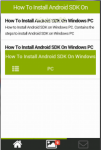 How To Install Android SDK On Windows PC Desktop screenshot 2/6