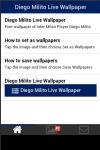 Diego Milito Live Wallpaper screenshot 2/5