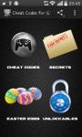 Cheat Codes for GTA5 screenshot 1/6