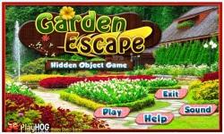 Free Hidden Object Games - Garden Escape screenshot 1/4