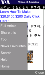 VOA Amharic for Java Phones screenshot 4/5