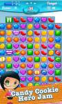 Candy Cookie Hero Jam screenshot 5/5