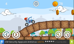 Becak hill climb racing screenshot 2/5