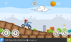 Becak hill climb racing screenshot 3/5